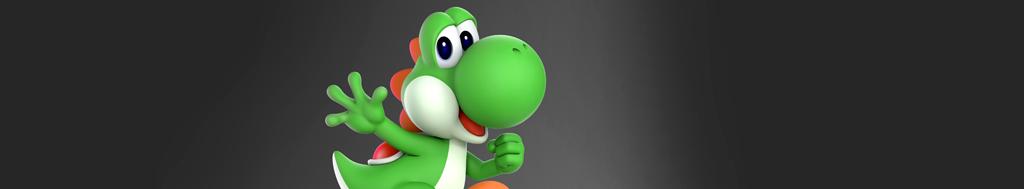 Yoshi in de Mario spellen van Nintendo